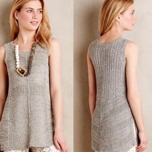 Anthropology- Sparrow Tunic Sweater